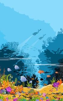 De schoonheid van het onderwaterleven