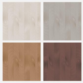 De set patronen houtstructuur. de set patronen houtstructuur. vloerplanken, behang, achtergrond