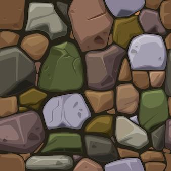 De steentextuur van beeldverhaalkleuren, naadloze achtergrond