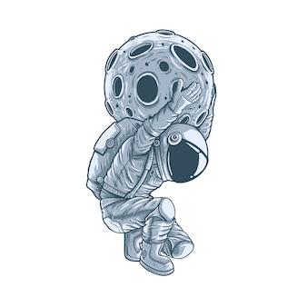 De sterkste astronaut van de wereld