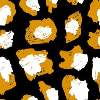De textuur van de luipaardvlekken. luipaardpatroon voor textiel.