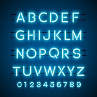 De vectoren van het alfabet en het numerieke systeem