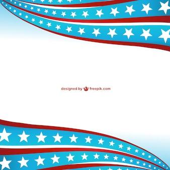 De verenigde staten van amerika symbolische achtergrond
