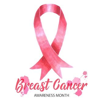 De voorlichtingsbanner van borstkanker
