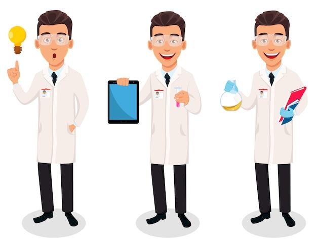 De wetenschapsmens, reeks van drie stelt