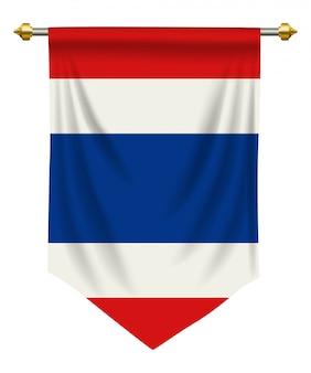 De wimpel van thailand