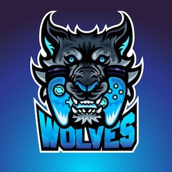 De wolf bijt joypad