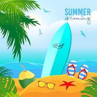 De zomer komt eraan