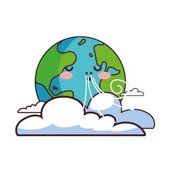 De zorg voor de aarde is ons huis