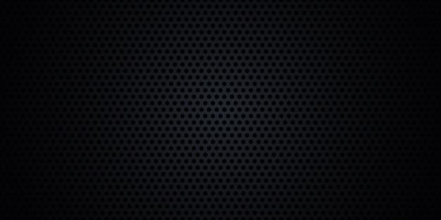 De zwarte achtergrond van de de koolstofvezeltextuur van het metaalstaal.