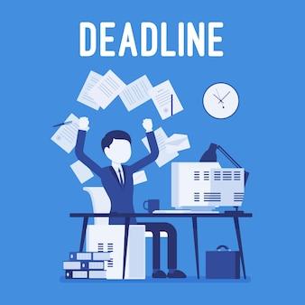 Deadline in papierwerk
