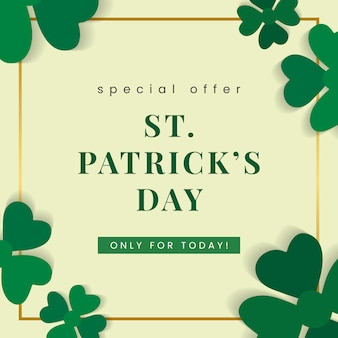 Deal voor st patricks day