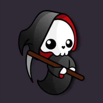 Death kawaii halloween