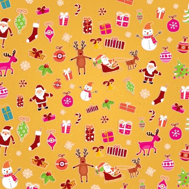 Decoratie textuur kerst verkoop achtergrond partij
