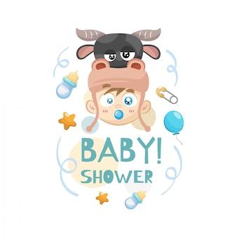 Decoratief baby showerconcept