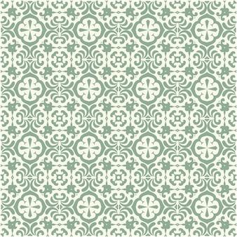 Decoratief bloemen naadloos patroon