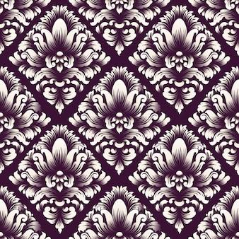 Decoratief damastpatroon