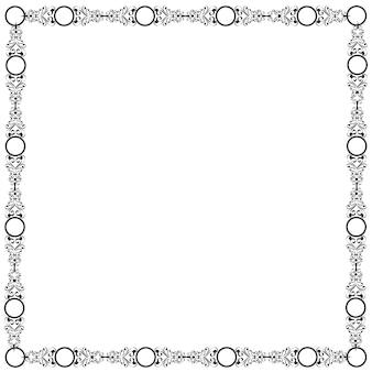 Decoratief elegant kader