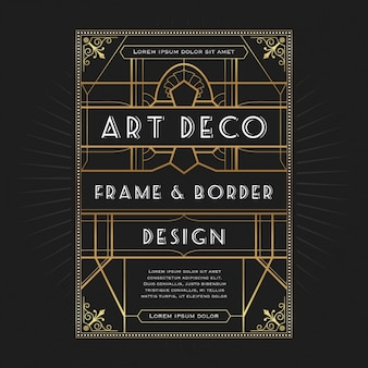 Decoratief frame design