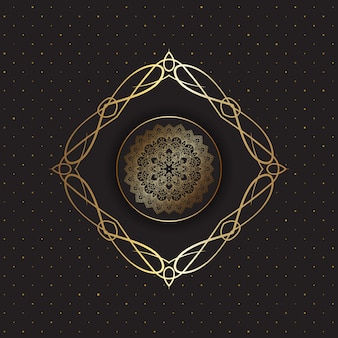 Decoratief mandala-ontwerp
