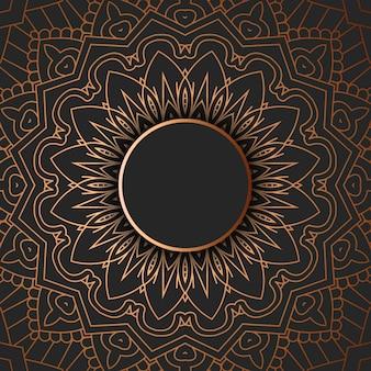 Decoratief mandalaontwerp