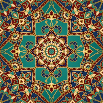 Decoratief patroon met mandala.