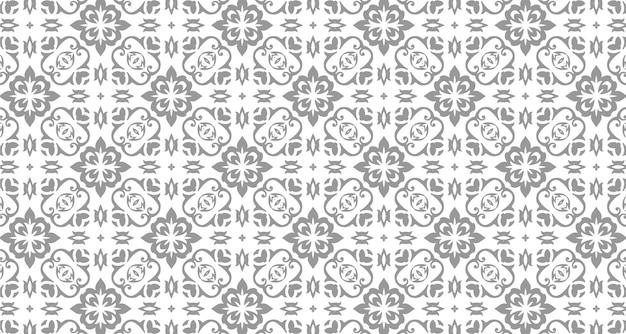 Decoratief patroonontwerp met ornamentstijl