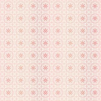 Decoratief roze gouden kunstpatroon