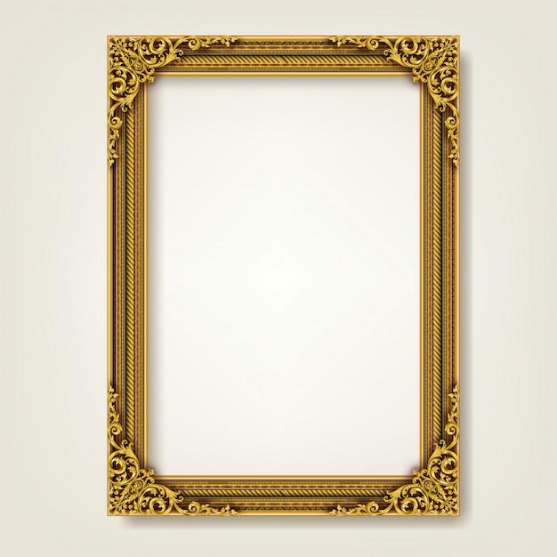 Decoratief vintage frame en rand