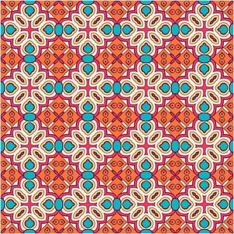 Decoratieve abstracte naadloze patroonachtergrond