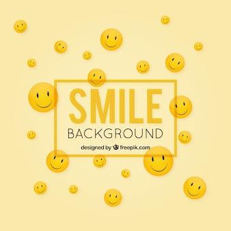 Decoratieve achtergrond met gelukkige gezichten