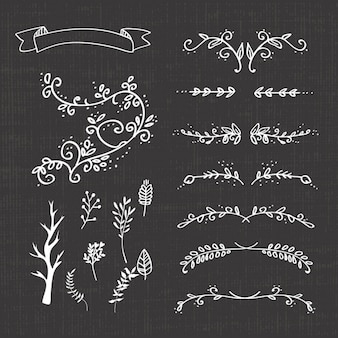 Decoratieve afscheiders collectie