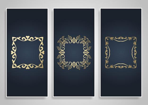 Decoratieve banners