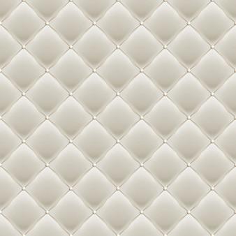 Decoratieve bekleding soft gloss naadloos gewatteerd patroon. echte luxe sjabloon met gouddraad. en omvat ook