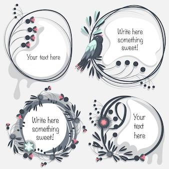 Decoratieve bloemlijsten