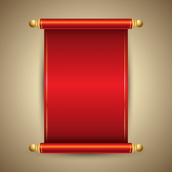 Decoratieve chinese stijl scroll ontwerp