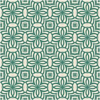 Decoratieve damast naadloze patroon achtergrond