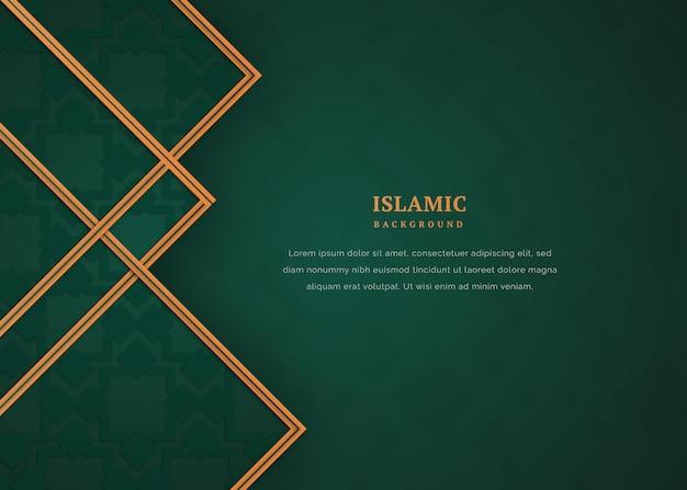 Decoratieve elegante islamitische achtergrond