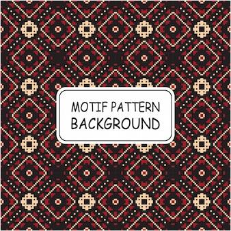 Decoratieve etnische patroon motief achtergrond