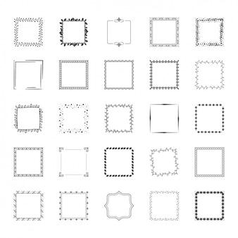 Decoratieve frames inzameling
