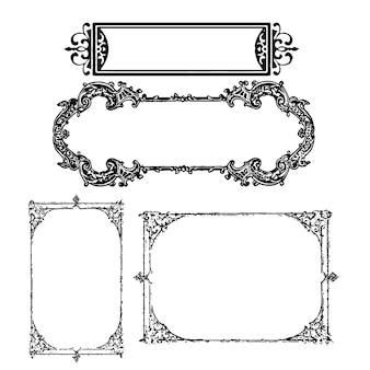 Decoratieve frames