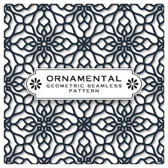 Decoratieve geometrische naadloze patroon