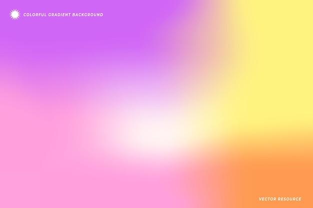 Decoratieve gradiëntachtergrond met levendige kleuren