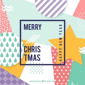 Decoratieve kerstmis achtergrond