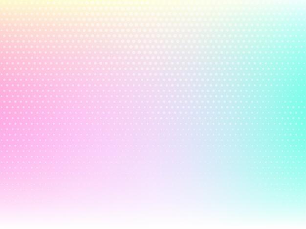 Decoratieve kleurrijke achtergrond met halftoon ontwerp