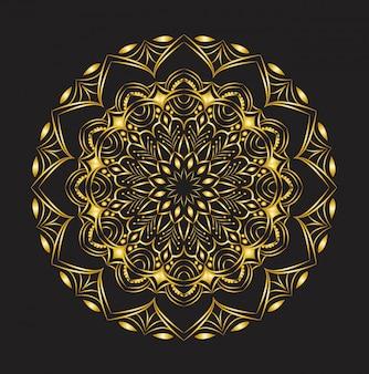 Decoratieve mandala design
