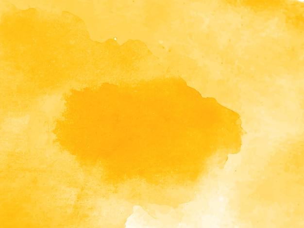 Decoratieve moderne gele aquarel textuur achtergrond
