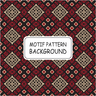 Decoratieve naadloze patroonachtergrond met motief