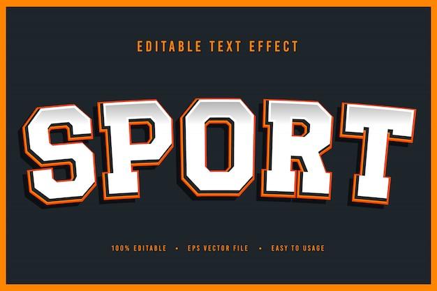 Decoratieve sport lettertype en alfabet vector