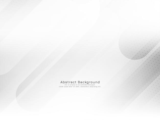 Decoratieve strepen geometrische stijl witte achtergrond vector